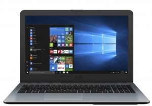 ASUS X540UB-GQ335 Notebook, Intel Core i3 6006U 2 GHz, 4 GB DDR4 2133 MHz, HD kijelző, GeForce MX110 2 GB, 1000 GB HDD